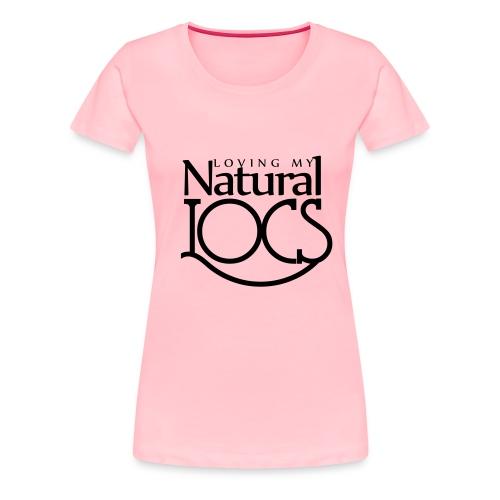 loving my locs - Women's Premium T-Shirt
