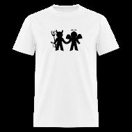 T-Shirts ~ Men's T-Shirt ~ Angel and Demon Tshirt