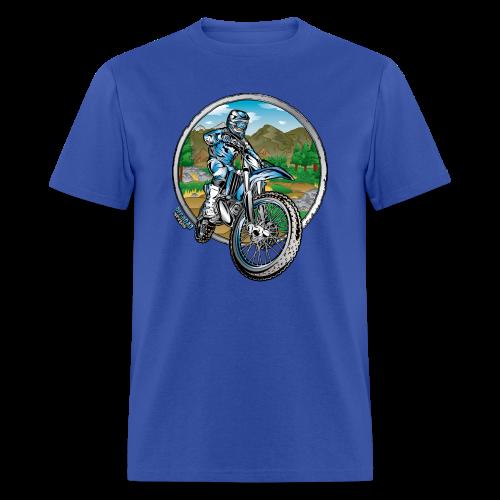 Motocross County Yamaha - Men's T-Shirt