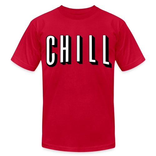 CHILL - Men's  Jersey T-Shirt