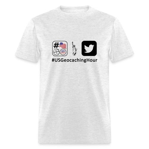 USGeocachingHour T-Shirt - Men's T-Shirt