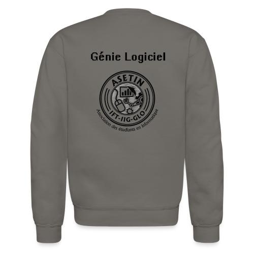 Gilet Long Génie Logiciel - Molleton à encolure ronde pour hommes