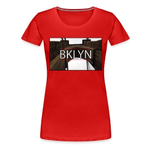 BKLYN - New York Series - Women's Premium T-Shirt