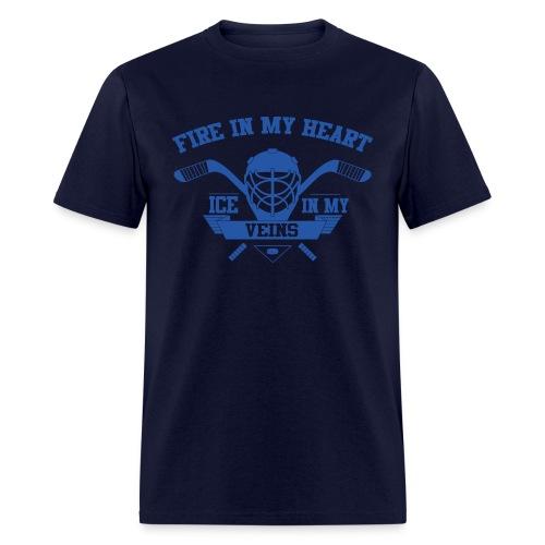 Fire in My Heart Ice in My Veins - Men's T-Shirt - Men's T-Shirt