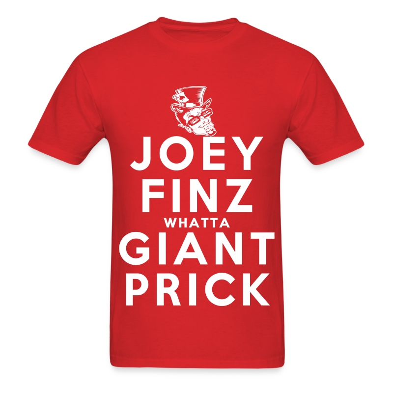 Joey Finz Giant Prick - Men's T-Shirt