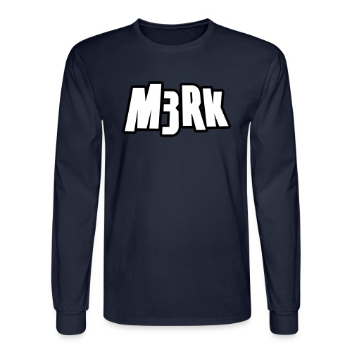 M3RKMUS1C - Men's Long Sleeve - Men's Long Sleeve T-Shirt