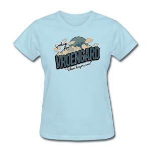 Greetings from Vroengard! (Women) - Women's T-Shirt