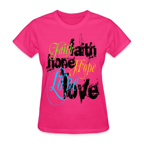 Womens Faith - Women's T-Shirt