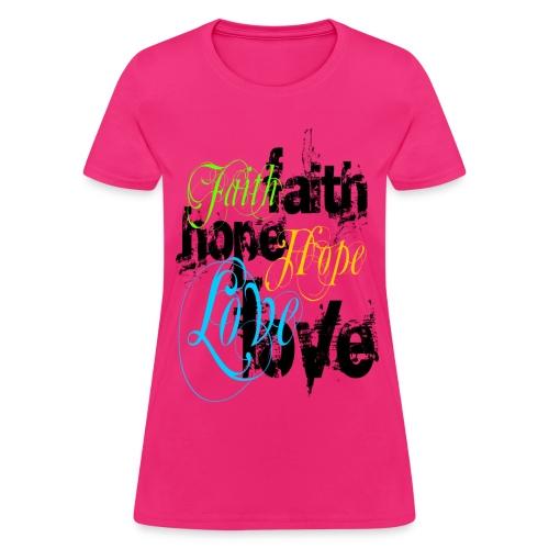 Womens Faith - Women's T-Shirt