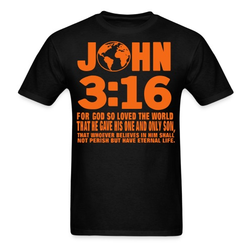 Mens John 3:16 - Men's T-Shirt