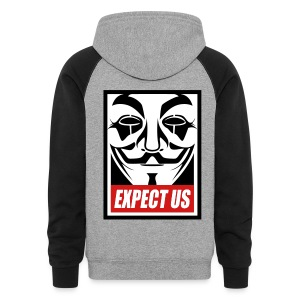 Anonymous Dualcolors shirt - Colorblock Hoodie