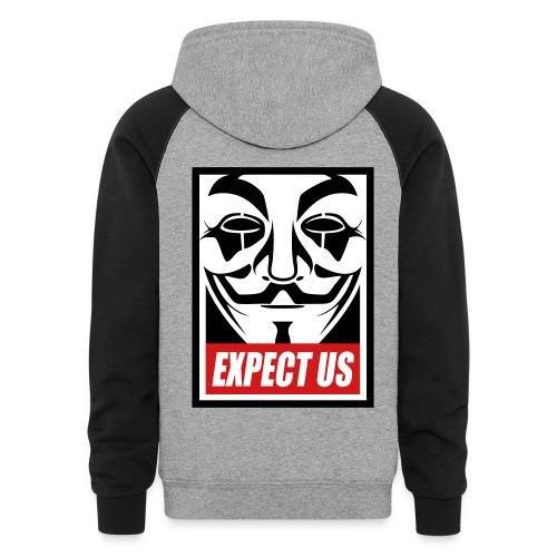 Anonymous Dualcolors shirt - Colorblock Hoodie