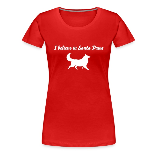 Santa Paws - Womens Plus Size T-shirt