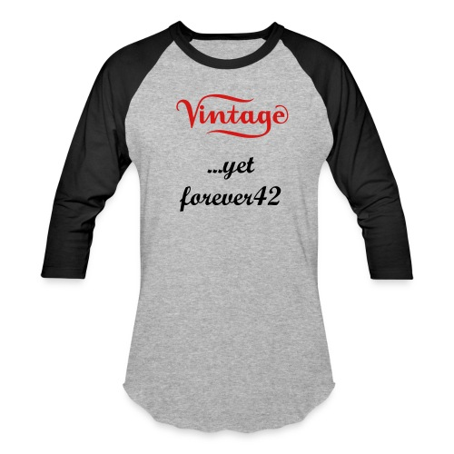 vintage sporty - Baseball T-Shirt