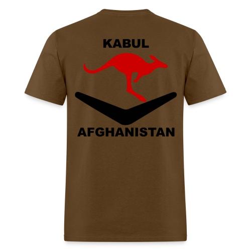 Kabul Red Roo T-Shirt - Brown - Men's T-Shirt