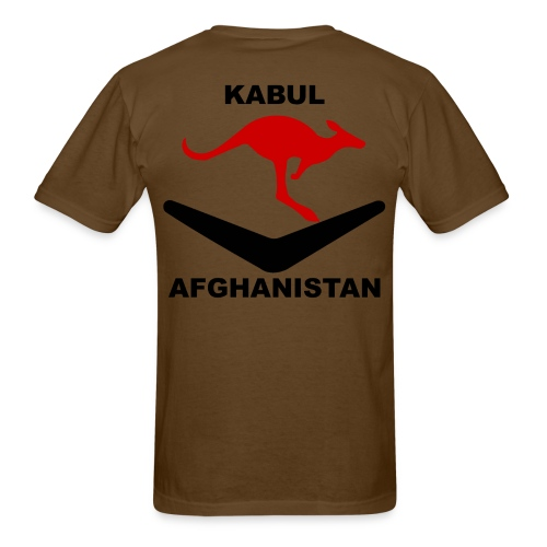 Kabul Red Roo T-Shirt - Brown - Men's T-Shirt