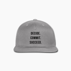 Decide. Commit. Succeed.  Caps