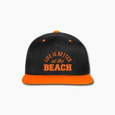 Life Is Better Beach Caps