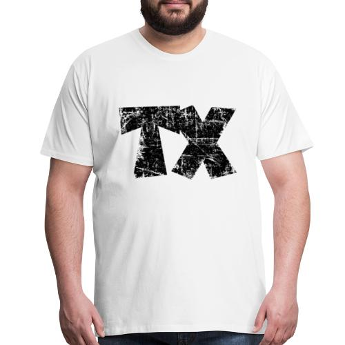 TX Texas T-Shirt (Men/White) - Men's Premium T-Shirt