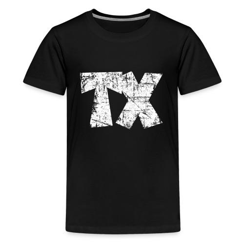 TX Texas T-Shirt (Children/Black) - Kids' Premium T-Shirt