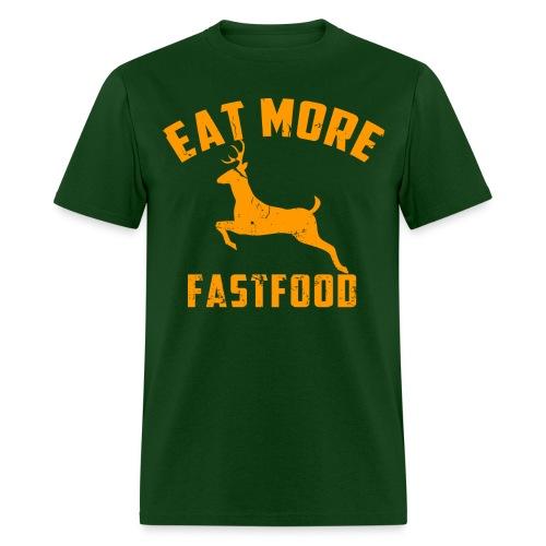 Mens Fast Food - Men's T-Shirt