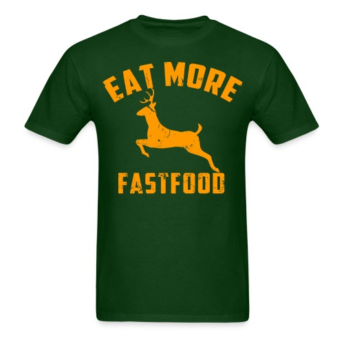 Mens Fast Food - Men's T-Shirt