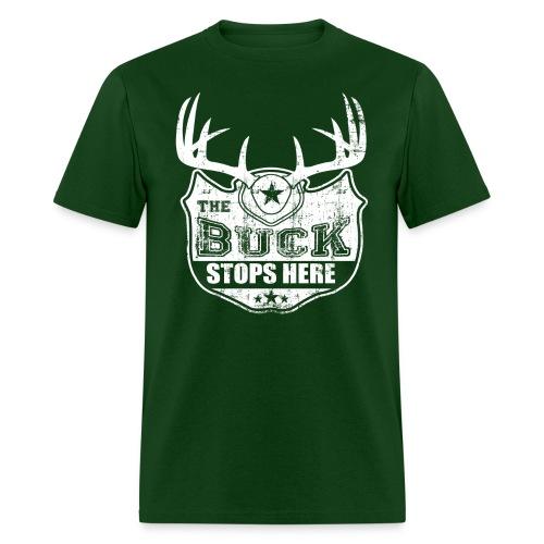 Mens Buck Stops Here - Men's T-Shirt