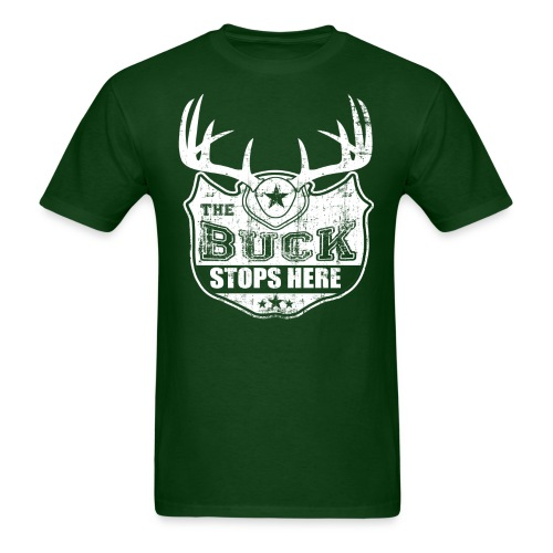 Mens Buck Stops Here - Men's T-Shirt