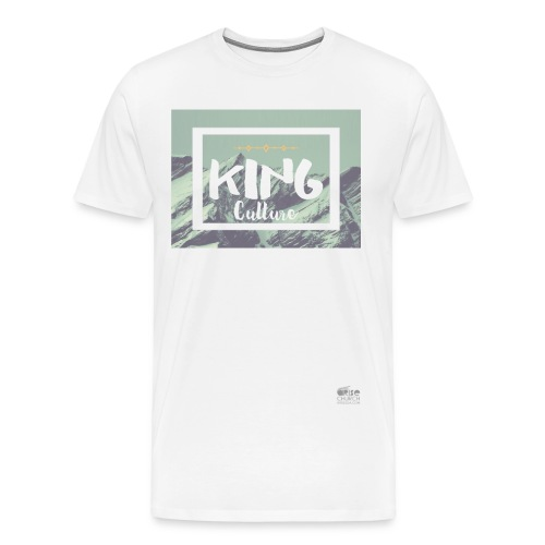 King Culture Mountain Men - Men's Premium T-Shirt