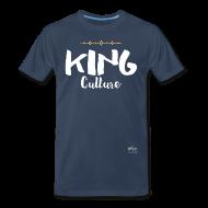 T-Shirts ~ Men's Premium T-Shirt ~ King Culture Script Men