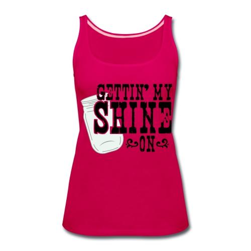 Country Shine Tank - Women's Premium Tank Top