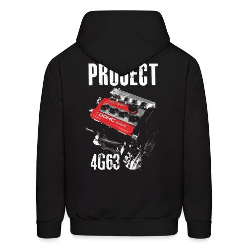 Project 4G63 Hoodie - Men's Hoodie