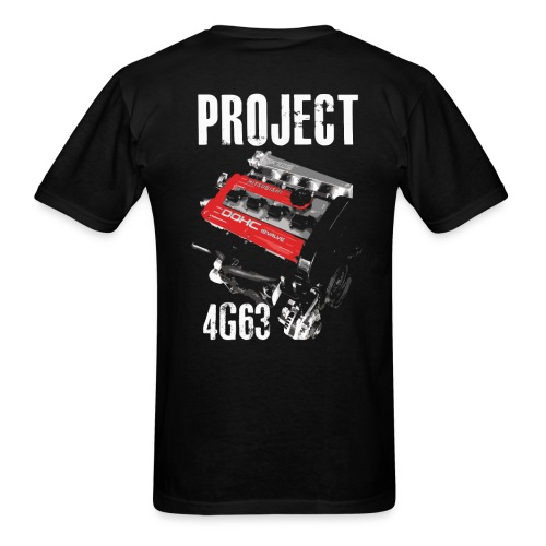 Project 4g63 T-shirt - Men's T-Shirt