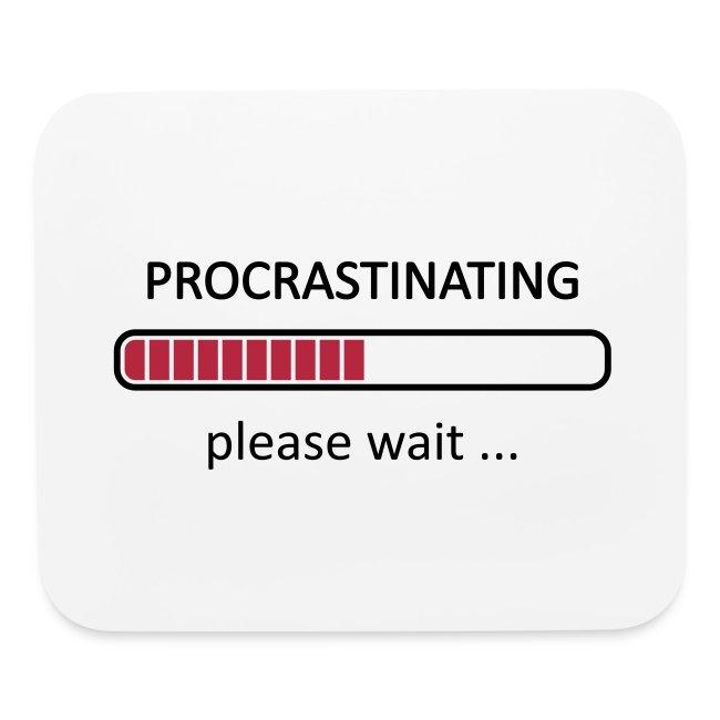 25569c0d3 Geek Emporium | Procrastinating Please Wait - Mouse pad Horizontal