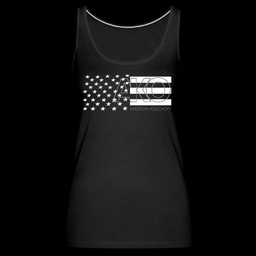 AKO STARS & STRIPES TANK [WOMENS] - Women's Premium Tank Top