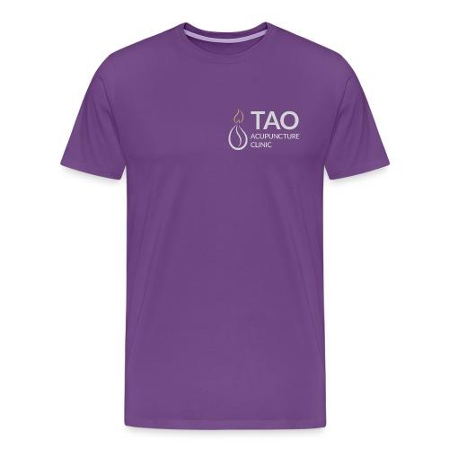 Tao Acupuncture Clinic Men's Logo Tee - Men's Premium T-Shirt