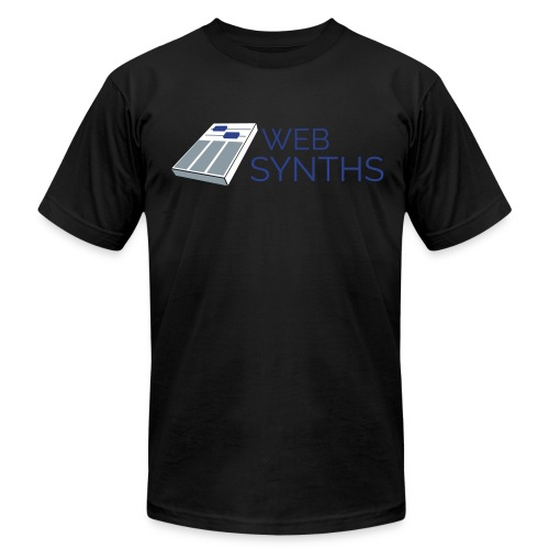 WebSynths - Men's T-Shirt by American Apparel