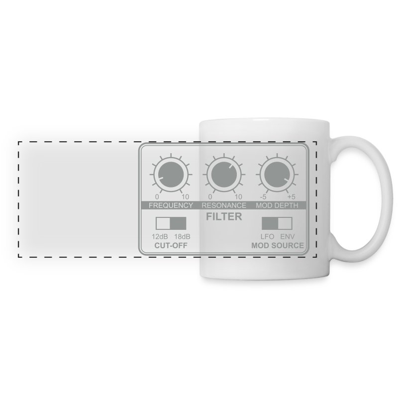 filter - 1 color - Panoramic Mug