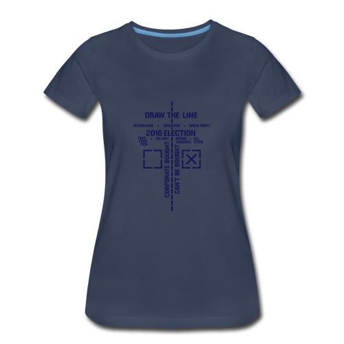 * 2016 Draw The Line *  - Women's Premium T-Shirt