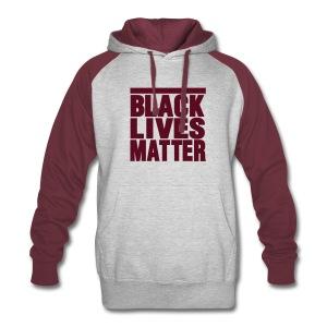 BLACK LIVES MATTER - Colorblock Hoodie