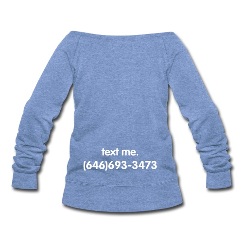 Wideneck Sweatshirt - Women's Wideneck Sweatshirt
