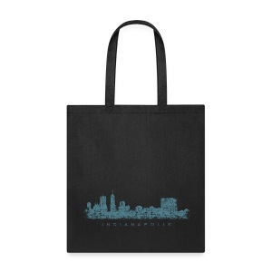 Indianapolis Skyline Bag - Tote Bag