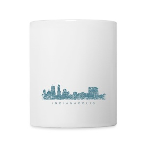 Indianapolis Skyline Mug - Coffee/Tea Mug