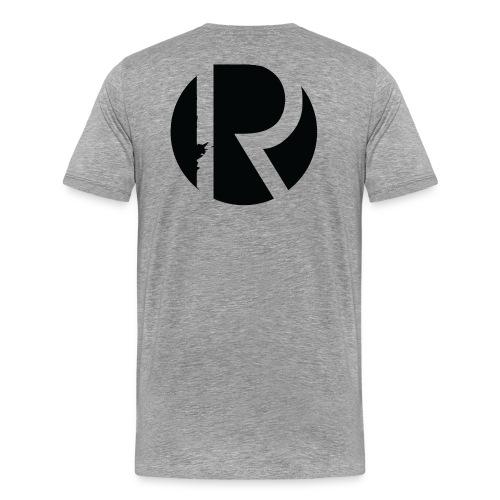 Men's That's How I Roll Regiment T-Shirt (Gray) - Men's Premium T-Shirt