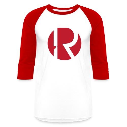 Regiment Red & White Baseball T-shirt - Baseball T-Shirt