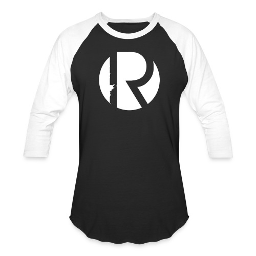 Regiment Black & White Baseball T-shirt - Baseball T-Shirt