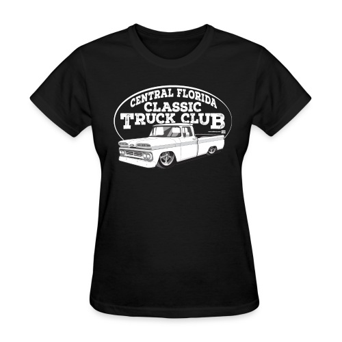 Central Florida Classic Truck Club Women's Tee (White graphic) - Women's T-Shirt