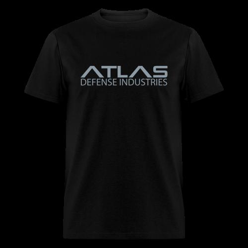 ADI Basic - Silver on Black - Men's - Men's T-Shirt