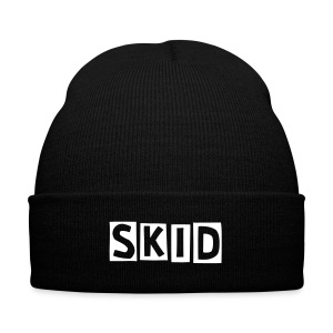 Skid Beanie - Knit Cap with Cuff Print