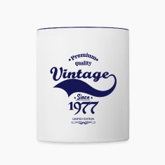 Premium Quality Vintage Since 1977 Limited Edition Mugs & Drinkware